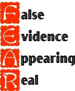 Fear ~ False Evidence Appearing Real